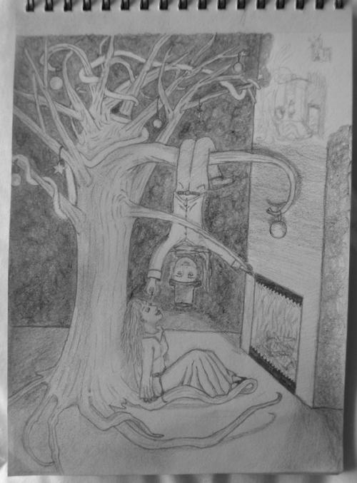 Croquis d'illustration n°1